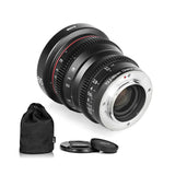 MEIKE 65mm T2.2 Manual Focus Cinema Prime Lens MFT Mount