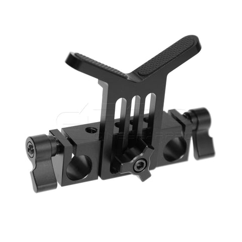 CGPro Universal Lens Support with 15mm Rail Clamp