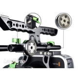 LanParte MA-02 Magic Arm w/ Rosette Lock & Single Rod Clamp Articulated Arms - CINEGEARPRO