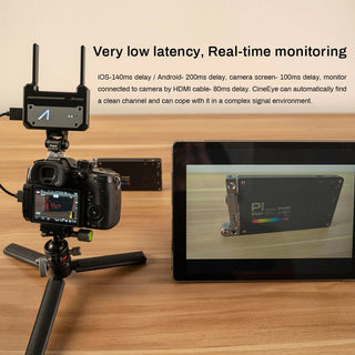 Accsoon CineEye 1080P 5G WiFi HDMI Wireless Transmitter Support 4 Devices  3D LUT Loading (100m)