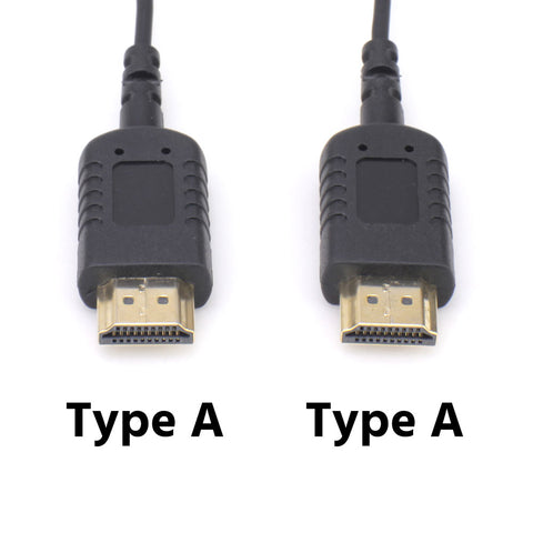 CGPro Hyper-Thin Super Flexible HDMI Cable A Male to A Male (1FT/2FT/3FT/6FT)