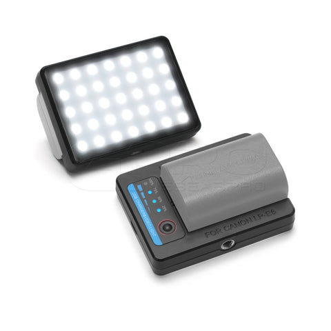 Vlogger Portable LP-E6 Charger With LED Light