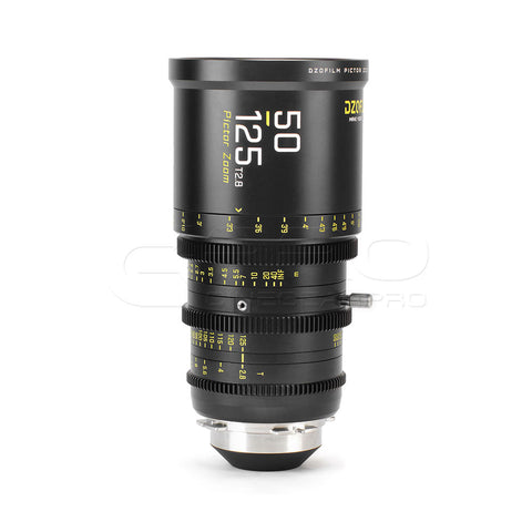 DZOFiLM 50-125mm T2.8 Pictor Zoom Super35 Cinema Lens (PL/EF Mount, Black)