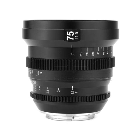 SLR Magic MicroPrime Cine 75mm T1.5 Lens  (E-Mount)