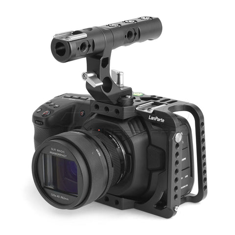 LanParte BMPCC 4K Cage For Blackmagic Pocket Cinema Camera 4K