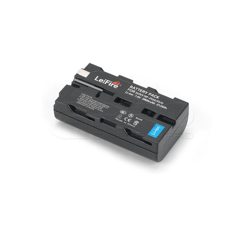 CGPro NP-F550/F570 2900mAh 7.4V Lithium-Ion Rechargeable Battery