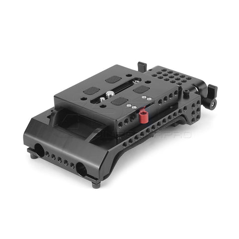 CGPro ARRI Dovetail Quick Release Baseplate With 15mm Rail VCT-U14 Shoulder Pad