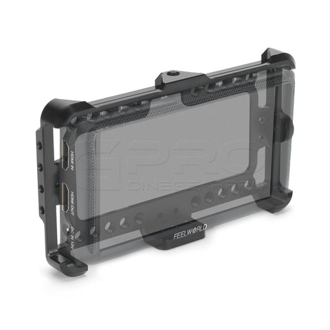 CGPro Monitor Cage Bracket Perfect Fit For FeelWorld F5 5 inch Monitor