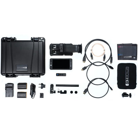 SmallHD 502 Full HD 5-inch LCD On-Camera Field Monitor Bundle Kit