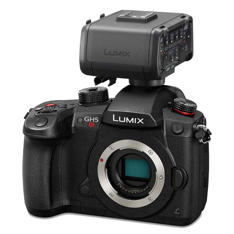 Panasonic LUMIX DCGH5SE-K CSC Camera & XLR Adaptor Bundle