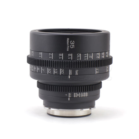 G.L Optics MEDIUM CINE PRIMES Rehoused Mamiya 645N Medium Format Lenses