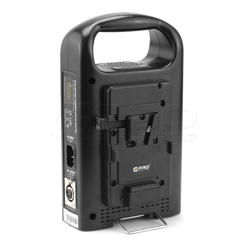 CGPRO VC-2CH Dual Channel Charger For Professional V-Lock Li-ion Camera Batteries