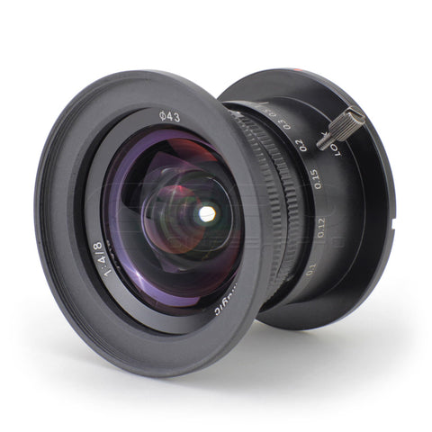 SLR Magic 8mm f/4 Ultra Wide-Angle MFT Mount Lens for Drones and Stabilisers