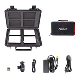 Aputure MC RGBWW 3200K-6500K LED Light Travel  Kit W/ Charging Case