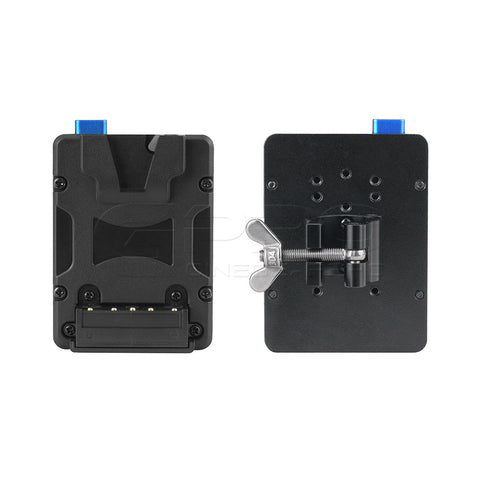 FXLION NANOL01 Nano V-Lock Plate with QR Rod Clamp Fit For 19-22mm Rod
