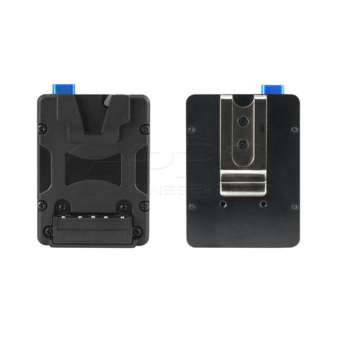 FXLION NANOL02 Nano V-Lock Plate with Belt Clip Hook Design