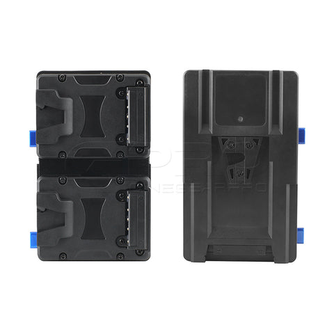 FXLION NANOL2S Dual Nano V-Lock Battery Plate to Standard V-Mount For Nano One/Two