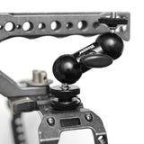 "Vlogger Articulating Magic Arm with Cold Shoe Mount Double Ballheads 1/4"" Screw Articulated Arms - CINEGEARPRO"
