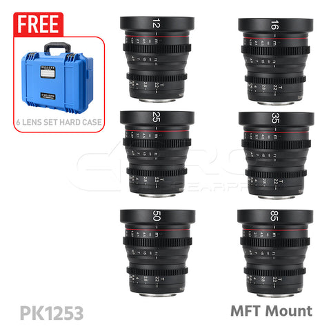 MEIKE Mini Cinema Prime Lens Set MFT Mount