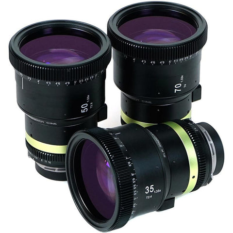 SLR Magic Anamorphot CINE 1.33x, 3 Lens Set - PL