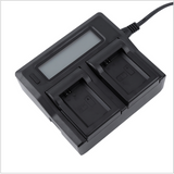 CGPro Dual Channel Charger with LCD Display For NP-F Battery Charger - CINEGEARPRO