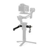 TiLTA TGA-ANA (TGA-DWH) Adjustable NATO Rail Extender Arms For DJI RS 2