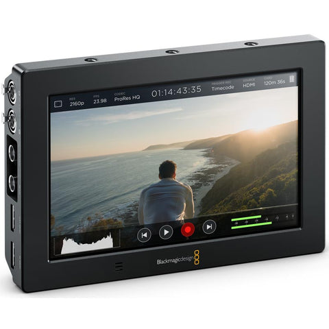 "Blackmagic Design Video Assist 4K Ultra HD Recorder 7"" Monitor"