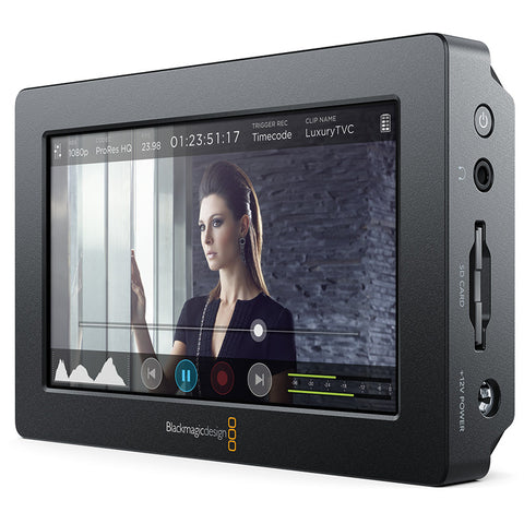 "Blackmagic Design Video Assist 5"" Monitor ProRes/DNxHD Recorder"
