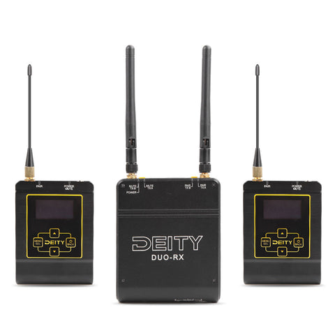 Aputure Deity Microphones Deity Connect Dual-Channel True Diversity Wireless System (2.4 GHz)