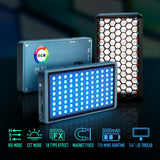 FALCONEYES PocketLite F7 RGB 12W 2500K-9000K Led Video Camera Light Magnetic Design LED Lighting - CINEGEARPRO