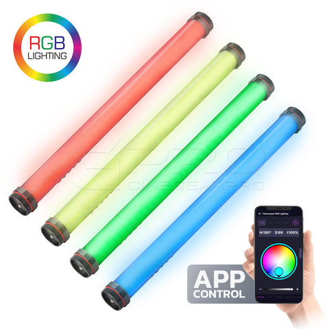 FalconEyes Fi-2 RGB 25W LED Tube Light 2500K-9999K 60cm/2 ft APP Control