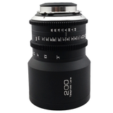 G.L OPTICS 200mm T2.8 PL Mount Prime Lens Lens - CINEGEARPRO