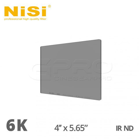 NiSi 6K 4x5.65 Nano iR ND Filters
