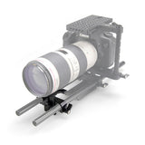 SMALLRIG 1087 Long Lens Support Height-Adjustable for Telephoto Lens on 15mm Rods Lens Support - CINEGEARPRO