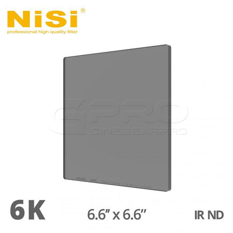 NiSi 6K 6.6x6.6 Nano iR ND Filters