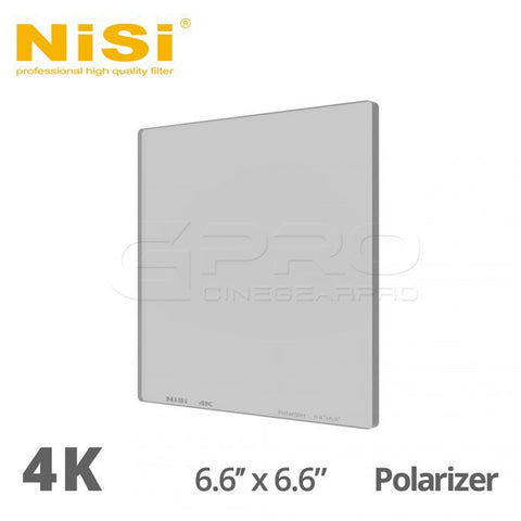 NiSi 4K 6.6x6.6 Polarizer Filter