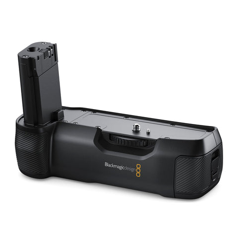 Blackmagic Design Announces Battery Grip for Pocket Cinema Camera 4K