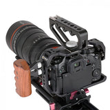 CGPro Wooden Side Handgrip for CGPro/SmallRig/Movcam Cage Wooden Handles - CINEGEARPRO