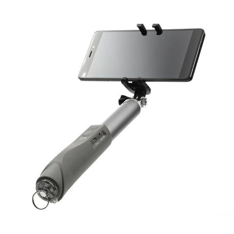 iPearl Wireless Selfie Stick Sliver Gray Colour