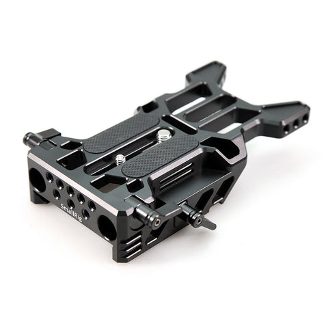 SMALLRIG 1739 SONY FS7 BASEPLATE WITH 15MM LWS RAIL CLAMP