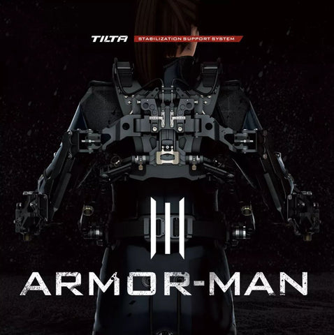 TiLTA-MAX ARM-T03 ARMOR-MAN 3.0 Ultimate Exoskeleton Gimbal Support