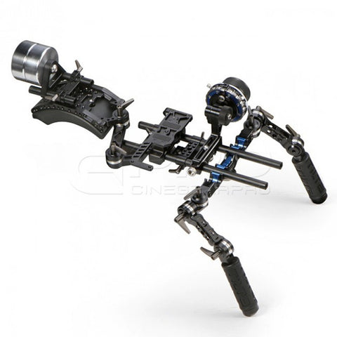 TiLTA TT-03-TL HDSLR Follow Focus System Offset Shoulder Rig w/ 2kg Counter Weight