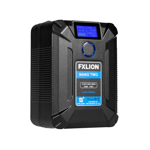 FXLION Nano Two Pocket V-Lock Battery 98Wh 14.8V V-Mount
