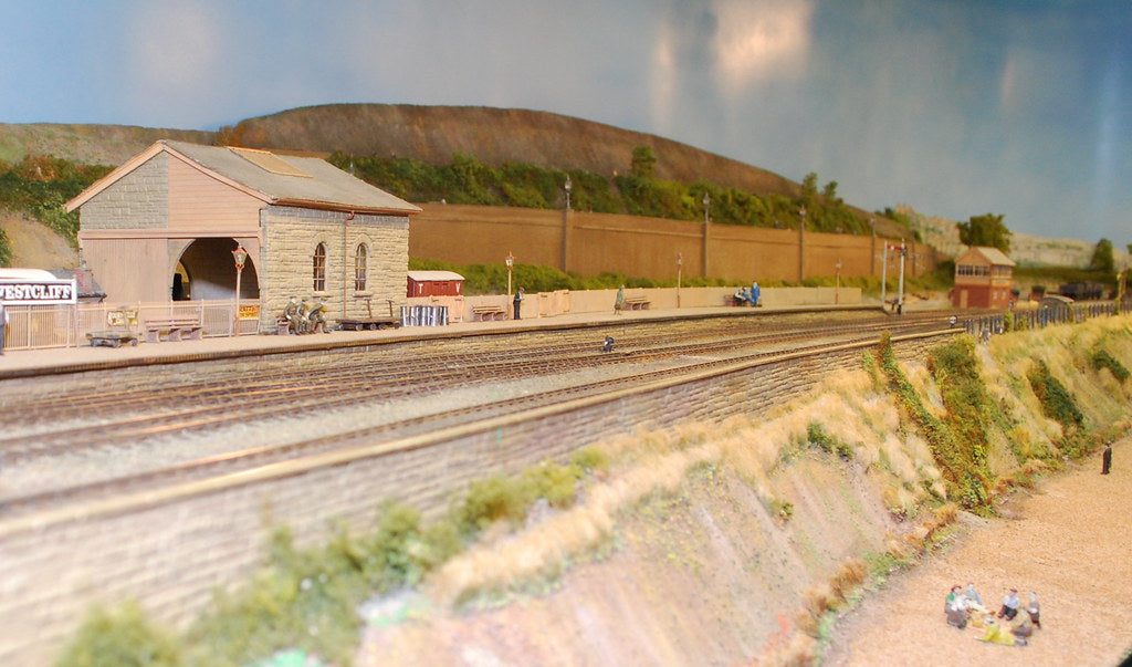 Creating a Backdrop for your Model Railroad Layout