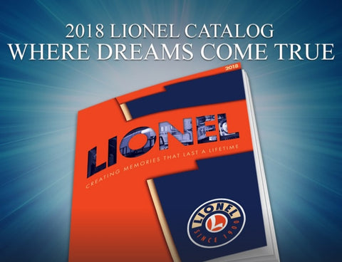 Lionel 2018 Vol 1 - Built-To-Order & Pre-Orders