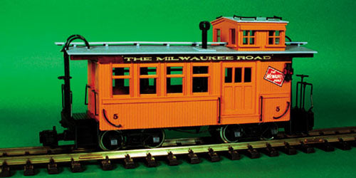 Milwaukee Road Caboose