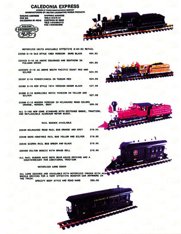 Caledonia-Express-Dealer-Price-List