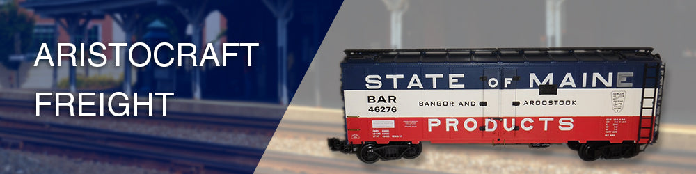 Aristocraft Freight - Browse Collector Trains | All About