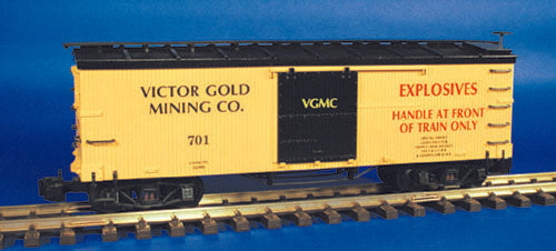 Victor Gold Mining Co Box Car