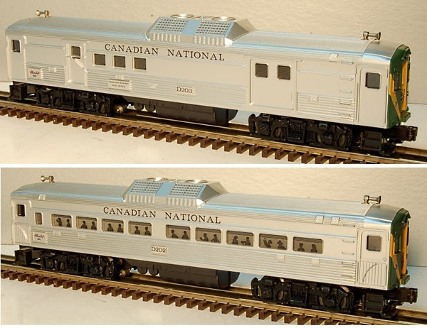 Lionel 6-18506 Canadian National BUDD Car Set